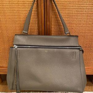 Céline edge bag in grey